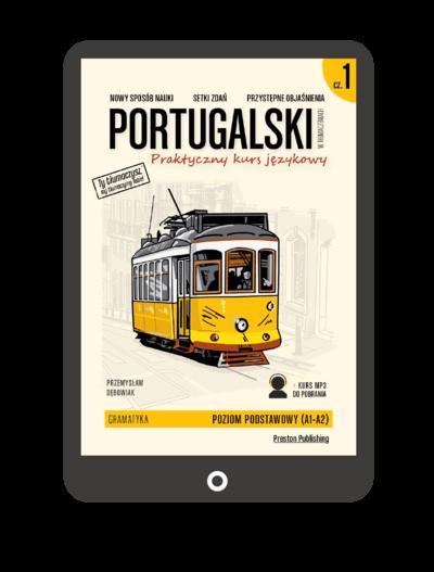 Portugalski w tłumaczeniach. Gramatyka 1 (Książka + e-book)