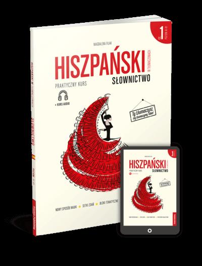 Hiszpański w tłumaczeniach. Słownictwo 1 (Książka + e-book)