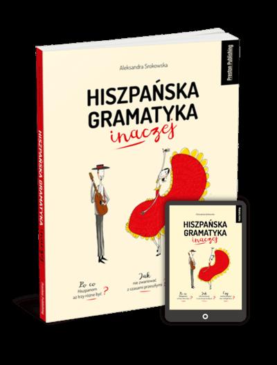 Hiszpańska gramatyka inaczej (Książka + e-book)