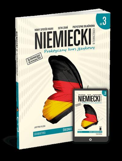 Niemiecki w tłumaczeniach. Gramatyka 3 (Książka + e-book)