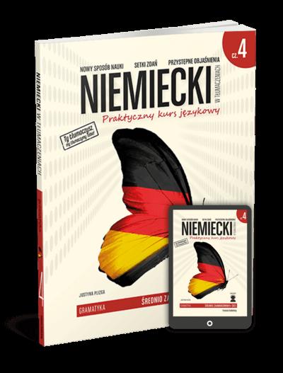 Niemiecki w tłumaczeniach. Gramatyka 4 (Książka + e-book)