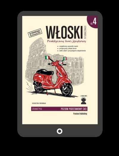 Włoski w tłumaczeniach. Gramatyka 4 (Książka + e-book)