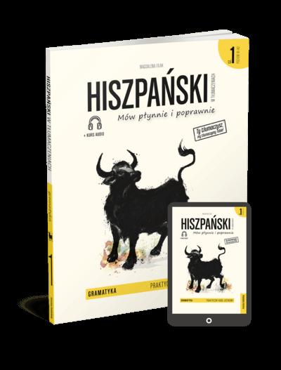 Hiszpański w tłumaczeniach. Gramatyka 1 (Książka + e-book)