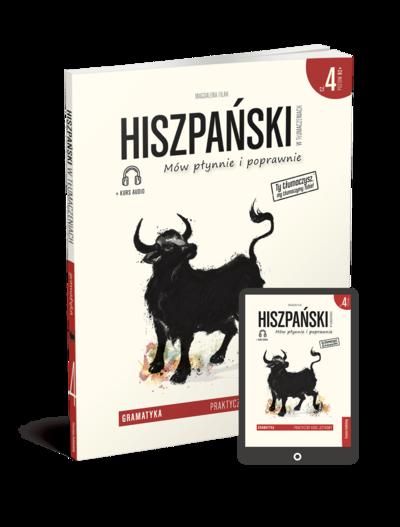 Hiszpański w tłumaczeniach. Gramatyka 4 (Książka + e-book)