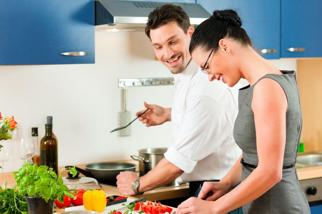 gotowanie, pomysł na naukę angielskiego