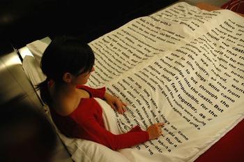 przed spaniem, nauka języka angielskiego